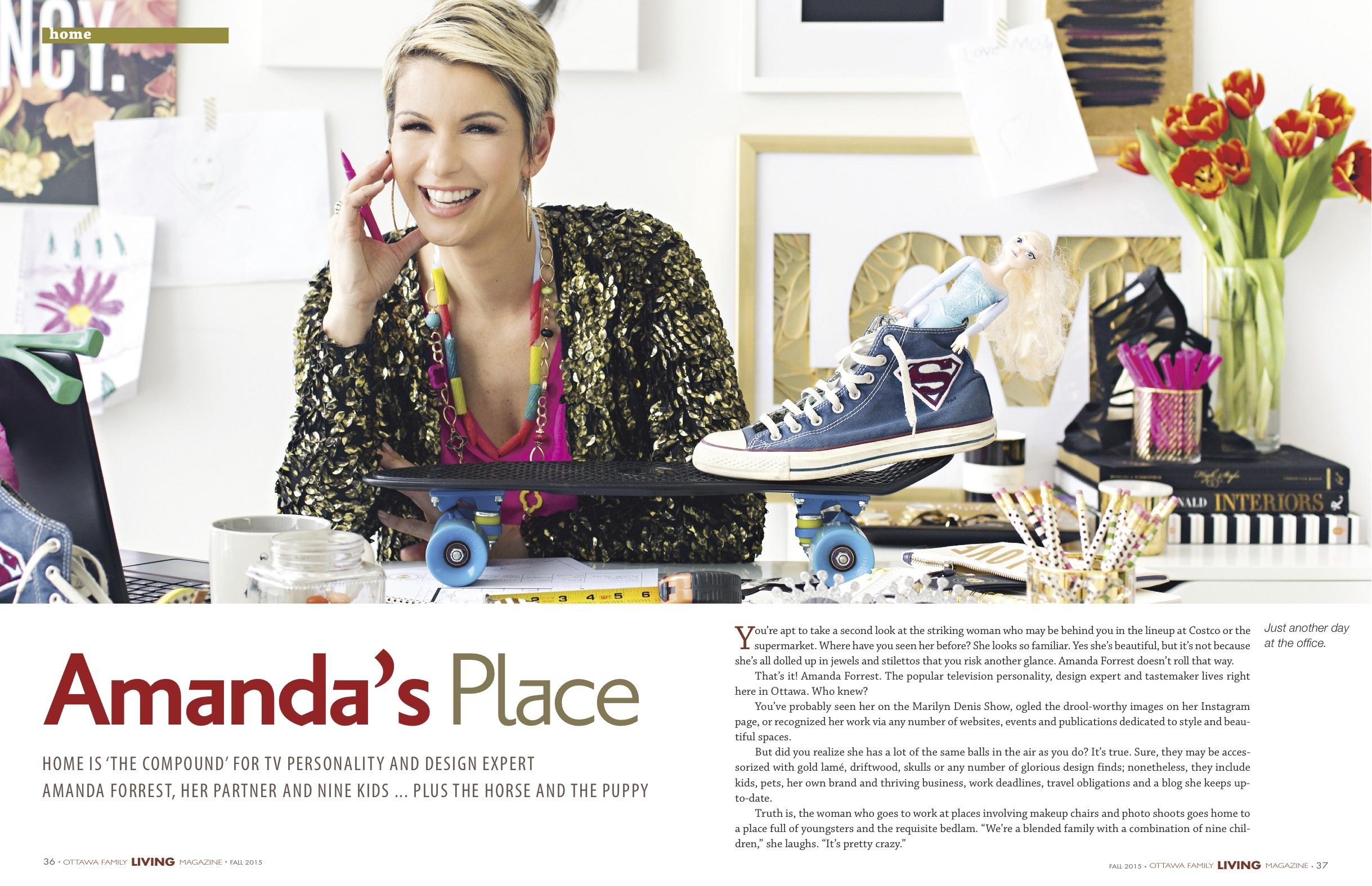 Family Living Magazine Ottawa Family Living Magazine  Amanda Forrest  Amanda Forrest