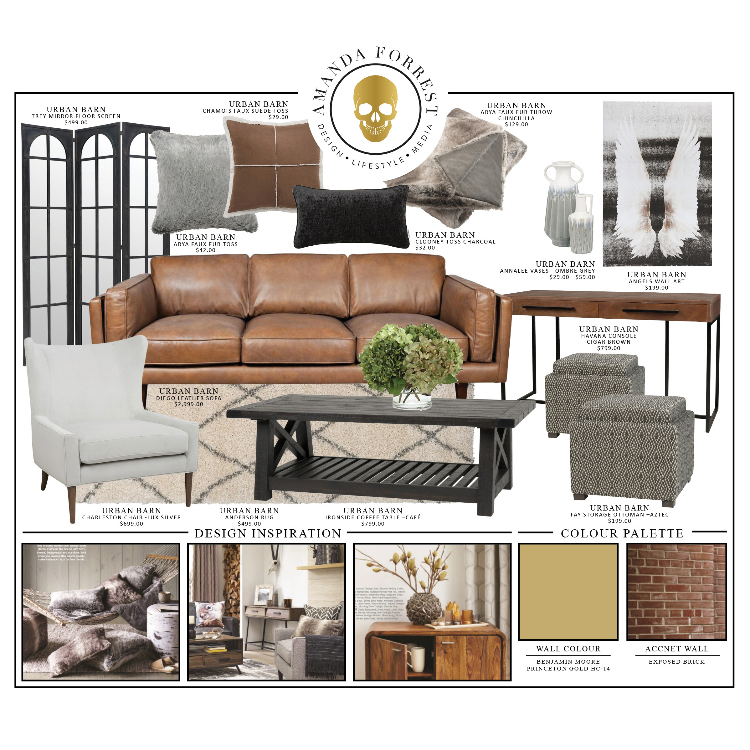 Urban Barn Design Board Falling In Love With Fall