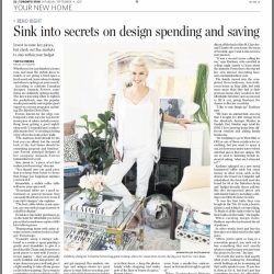 Secrets On Design Spending and Saving-The Toronto Star Interview