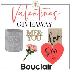 $100 Gift Card To Bouclair Home